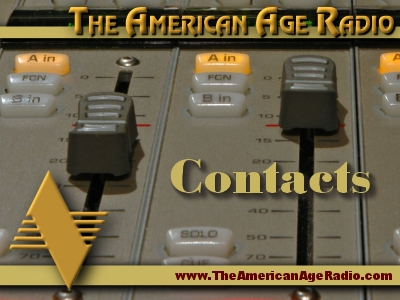 Contacts and Email address Contacts for The American Age Radio